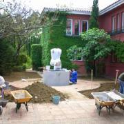 Landscape garden design Marbella