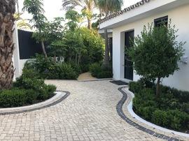 Diseño de jardines en Marbella, Arquitectos Paisajistas en Marbella, Landscape Architects studio in Marbella Sotogrande Costa del Sol, Diseño de Piscinas, Diseño Pool House, Cristina Moreno Salamanca